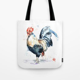 Rooster - Eary Riser Tote Bag