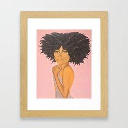 Golden Goddess Framed Art Print