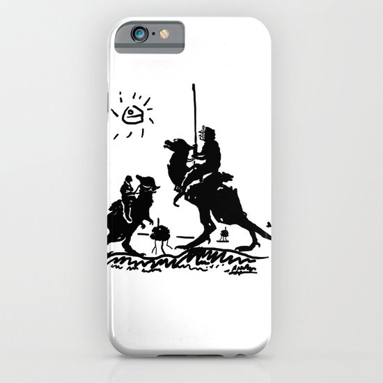 Han Quixote iPhone & iPod Case