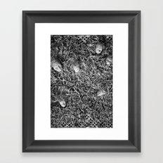 Alien Collective B & W Framed Art Print