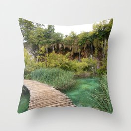 guided relaxation Throw Pillow