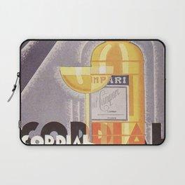 Vintage 1941 Cordial Campari Advertisement by Nicolay Diulgheroff Laptop Sleeve
