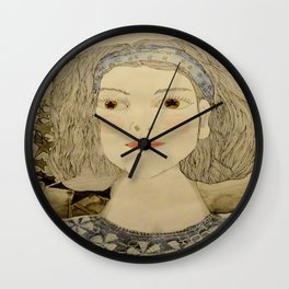 Imagen   interna de mi prima sofi Wall Clock