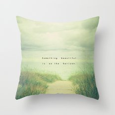 Something Beautiful Throw Pillow