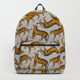Tigers (Gray and Marigold) Backpack