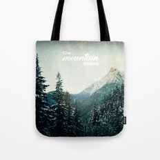 On Mountain Time Tote Bag