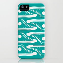 'The Con Artist' - Green Converse Pattern iPhone Case