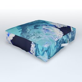 Churning Tides Outdoor Floor Cushion