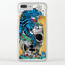 Catacomb Comic Clear iPhone Case
