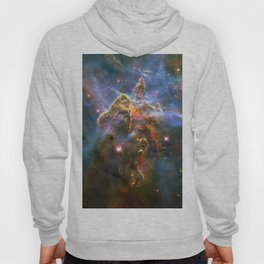 Mystic Mountain (a region in the Carina Nebula)(NASA/ESA Hubble Space Telescope) Hoody