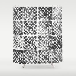Crochet Impressions: GRANNY Shower Curtain