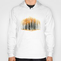 freeminds Hoodies featuring Autumn Wolf by Freeminds