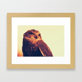 Over My Head Framed Art Print