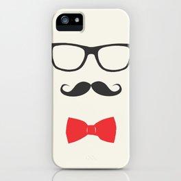 nerdyboy iPhone Case