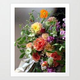 Flower Design 11 Art Print