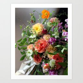 Flower Design 11 Art Print