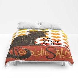 Le Chat Damour De Rodolphe Salis Valentine Cat Comforters