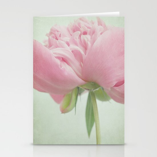 dreaming of peonies Stationery Cards