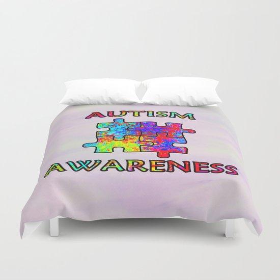 Autism Awareness Duvet Cover