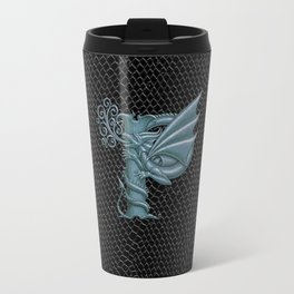 "Dragon Letter P, from ""Dracoserific"", a font full of Dragons Travel Mug"