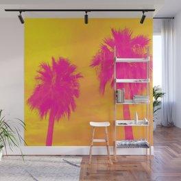 The Palms Wall Mural