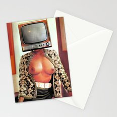 SEX ON TV - WOODY by ZZGLAM Stationery Cards
