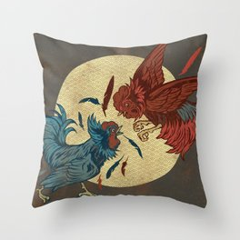 Ruler of The Roost Throw Pillow