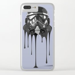 Shadowtrooper Melting 01 Clear iPhone Case