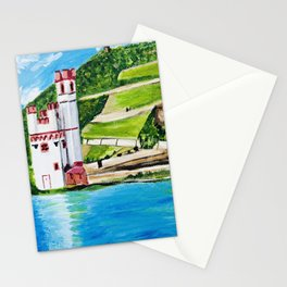 Mouse Tower Bingen Stationery Cards