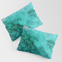 Mermaid Abstract Pillow Sham