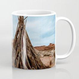 Triangle Wood Trunk Coffee Mug