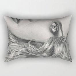 Half Portrait Rectangular Pillow