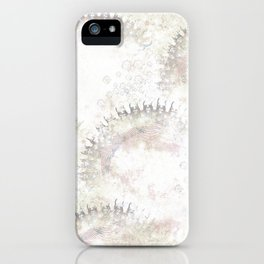 Boho Abstract Art Soft Neutral Pastels iPhone Case