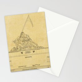 Marine Corps Memorial Stationery Cards
