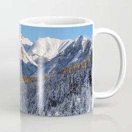 Winter Wonderland - Road in the Canadian Rockies Coffee Mug