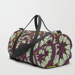 Rex Begonia Illustrated Print Duffle Bag