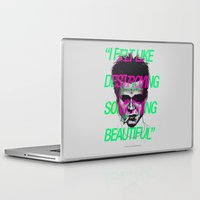 tyler durden Laptop & iPad Skins featuring Tyler the Destroyer by Davies Babies