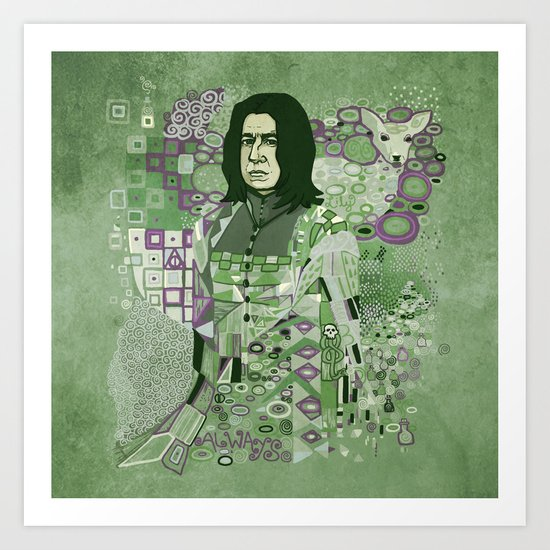 Portrait of a Potions Master Art Print