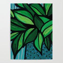 Happy Little Plant Poster