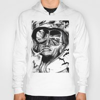 fear and loathing Hoodies featuring Fear and Loathing by Tufty Cookie