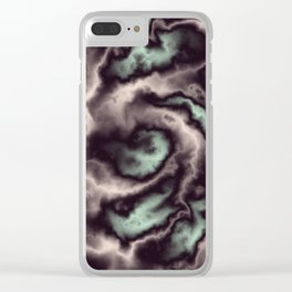 Turbulence in BMAP 01 Clear iPhone Case