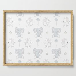 Elephant and Mouse Serving Tray