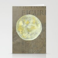 sun and moon Stationery Cards featuring Sun Moon by Matthew Kay