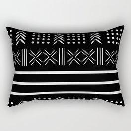 BW Pattern 2 Rectangular Pillow