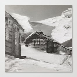 Whiteout Canvas Print