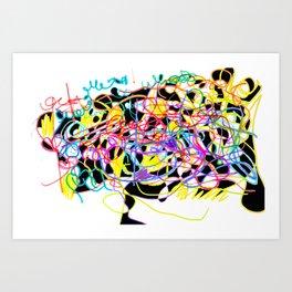 Rainbow & Innocence Art Print