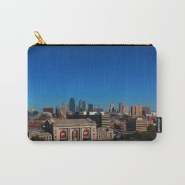 Union Station and Kansas City Skyline Carry-All Pouch