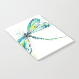 Watercolor Dragonfly Notebook