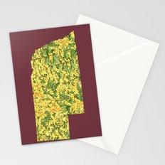 Nebraska in Flowers Stationery Cards