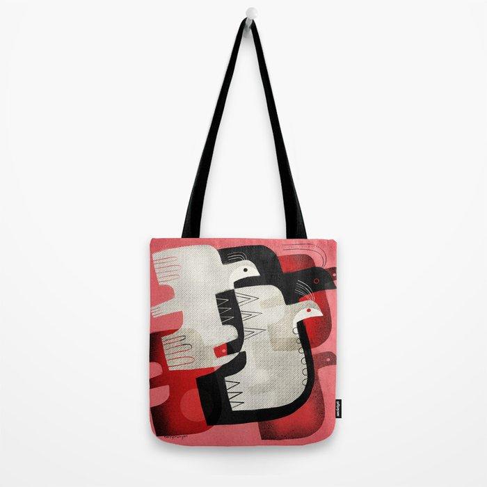 FLOCK FLIGHT Tote Bag